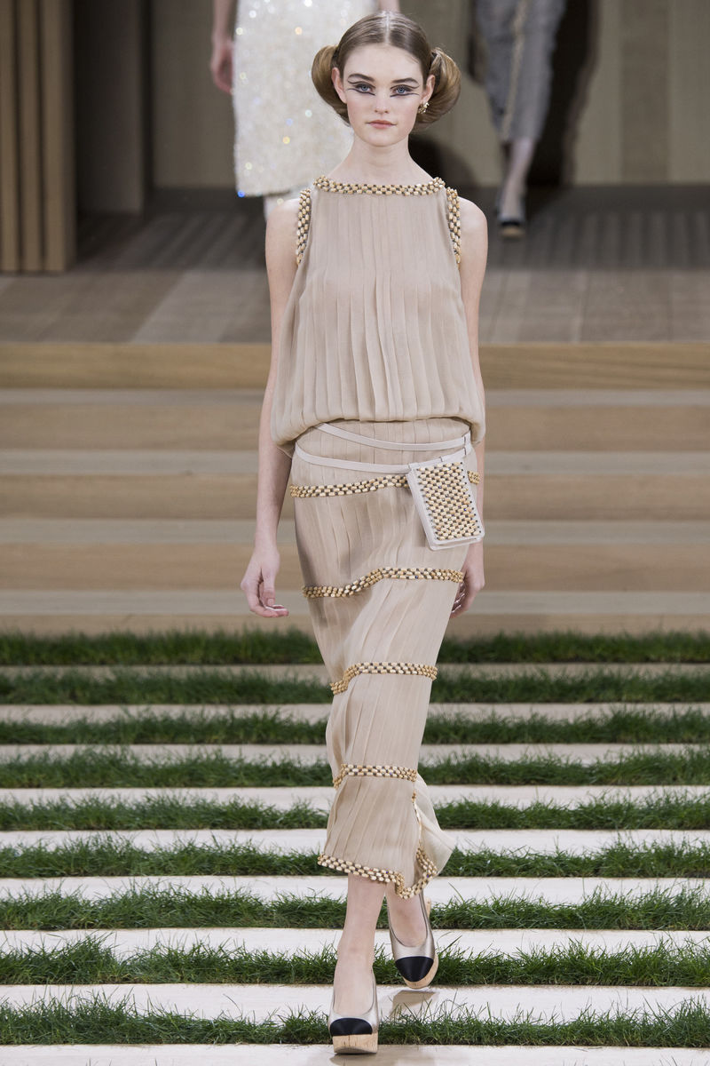 Naturalistic Couture Collections Chanel Spring