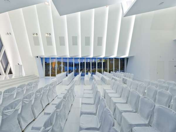 Contemporary SciFi Churches  Chapel at Discovery Bay