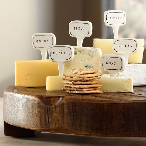 Cheese Type Identifiers  cheese markers