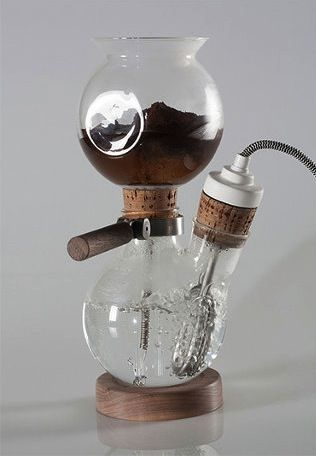 Old World Inspired Coffee Makers Chemistry Lab