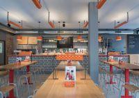 Industrial Restaurant Interiors : chic vintage interior