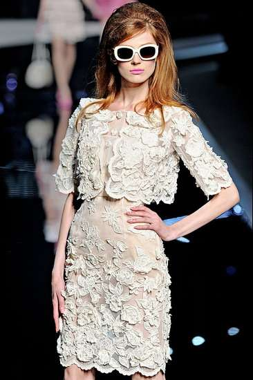 French New Wave Fashion  christian dior resort 2011 collection