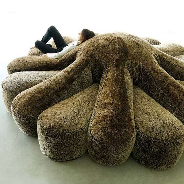 OctopusShaped Sofas  circular couch