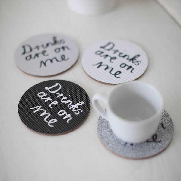 Hilariously Literal Drink Coasters : clever drink coasters