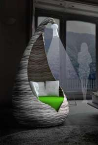 Enveloping Teepee Chairs : Cocoon Armchair