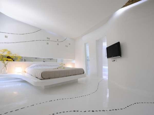 Sleek SpaceAge Dwellings  cocoon suites