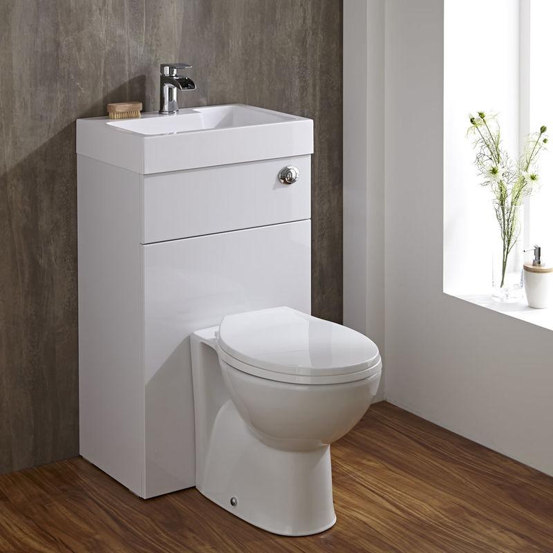 Combination Toilet-Basins : toilet and basin