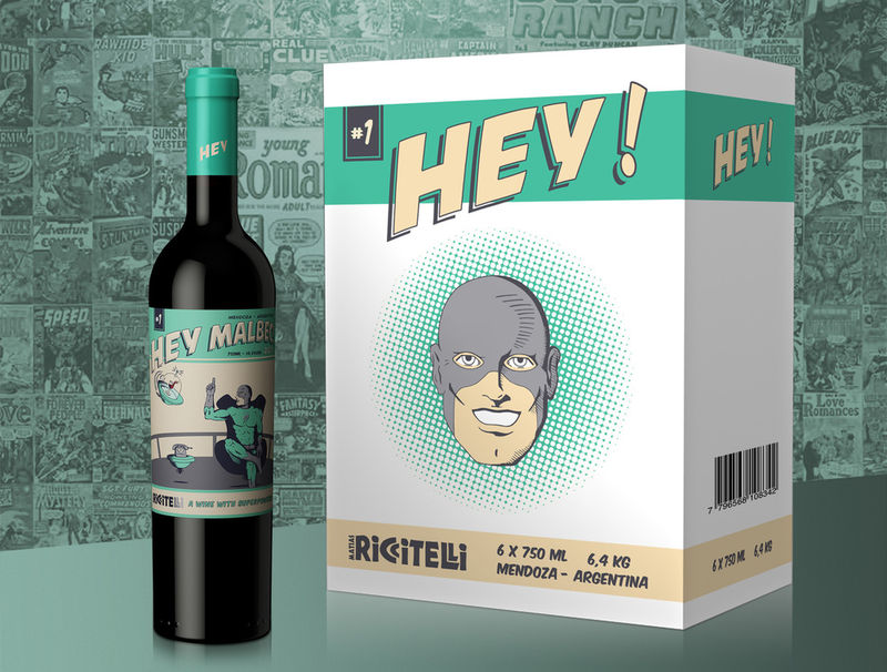 SuperheroInspired Wines  comic book wine