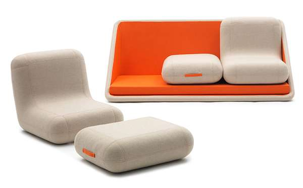 small sized sofas single size sofa bed singapore reconfigurable contemporary couches : concentre de vie
