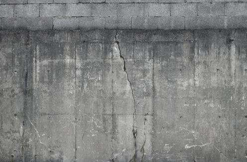 faux industrial walls concretewall