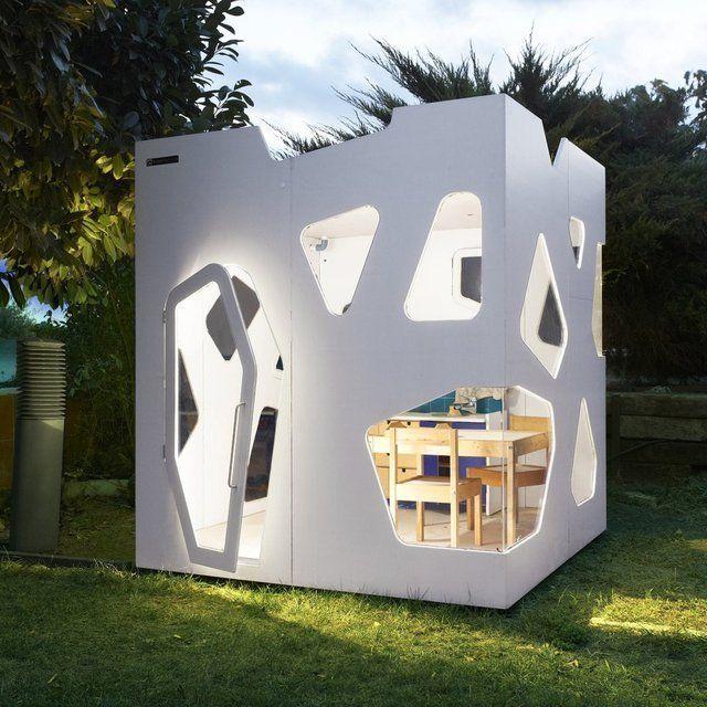 Cutout Club Houses  creative playhouse