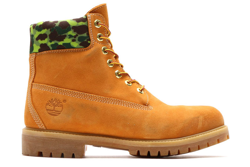 CamouflageAccented Boots  Custom Timberland Boots
