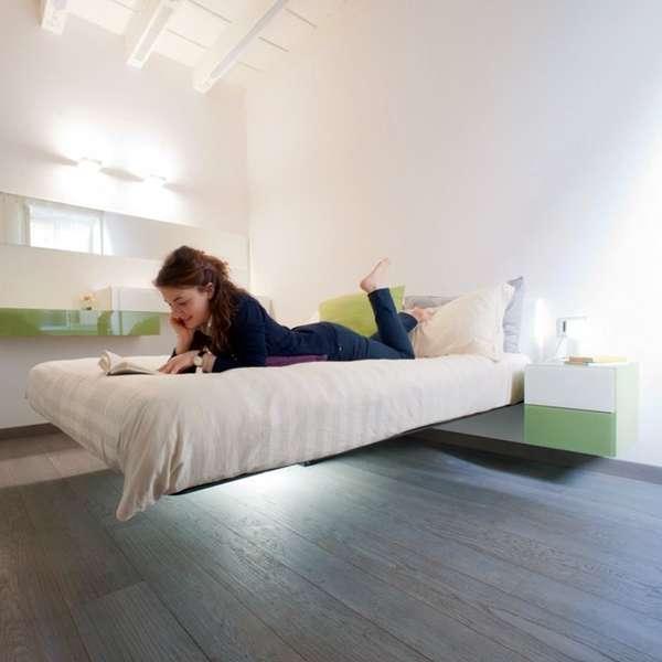 Mysteriously Floating Furniture Daniele Lago