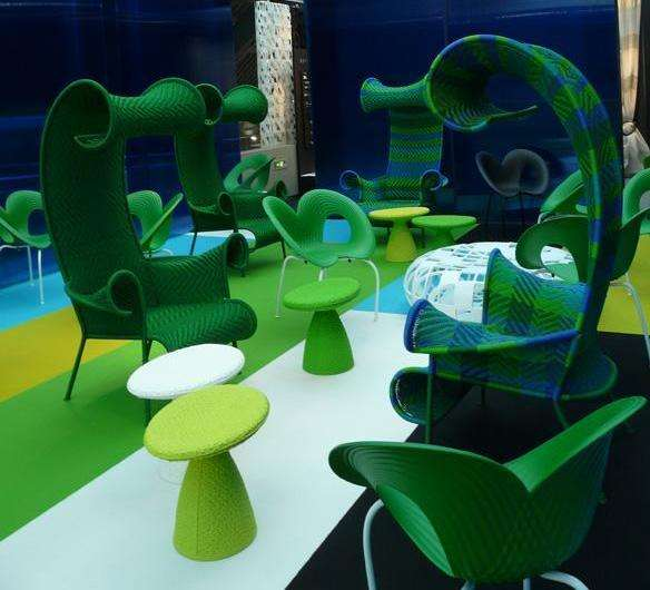 Seaweed Seating OceanInspired Moroso Furniture