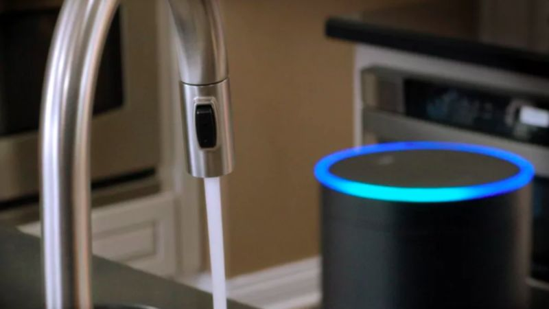 voice controlled smart faucets deltas