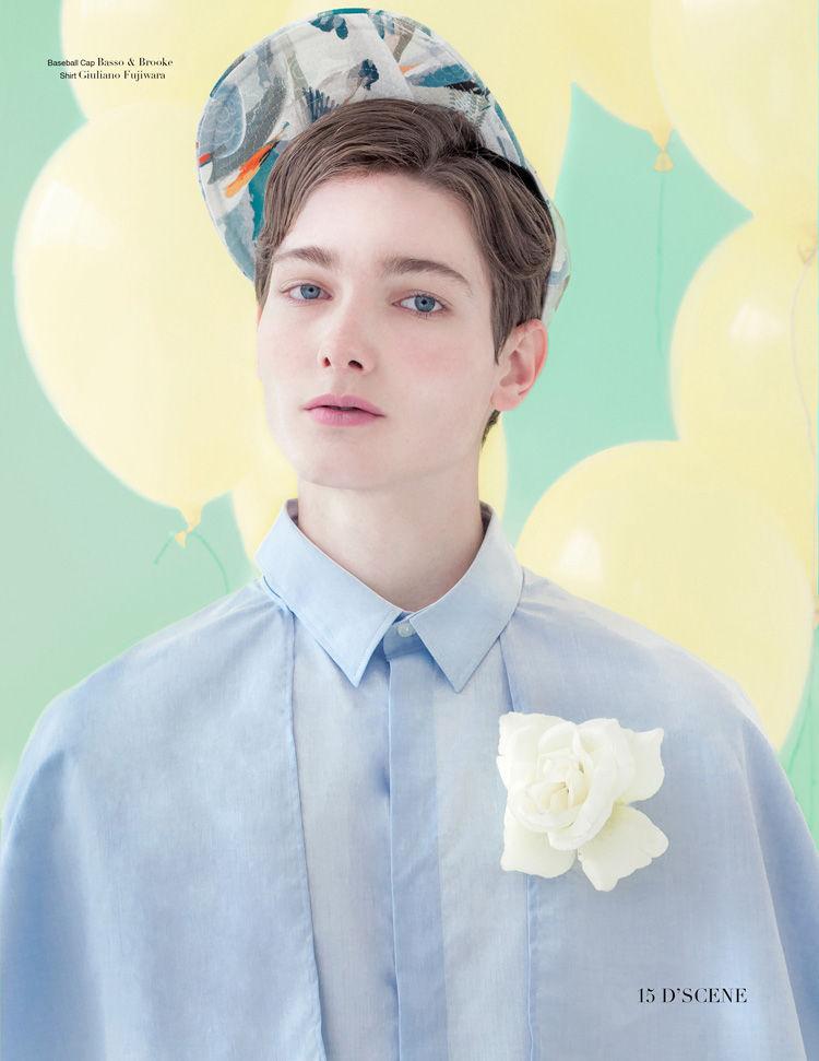 Boyish Pastel Portraits Dscene