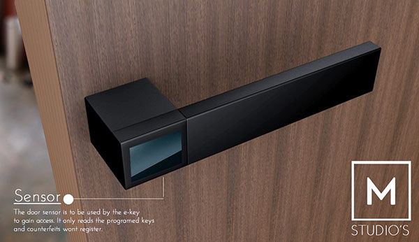 Accessible Electronic Handles E Lock