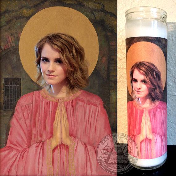 Celebrity Prayer Candles  Emma Watson products