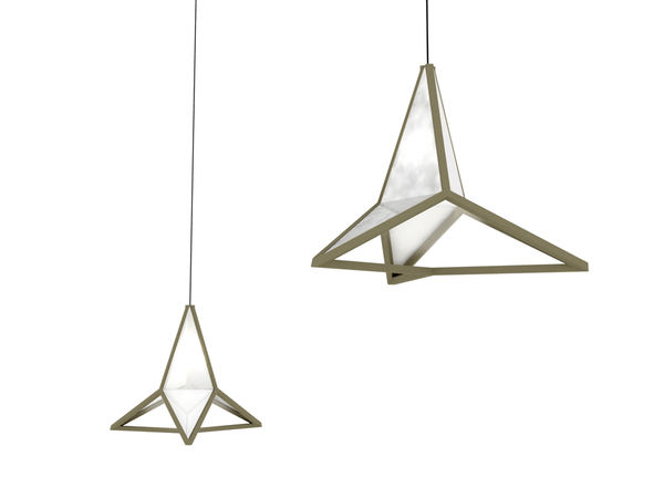 Stellar Suspended Lights : Equilateral Pendant Lamp