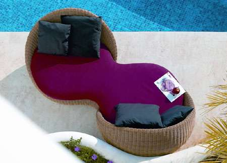 Luxury Resort Furniture The Bubble Daybed