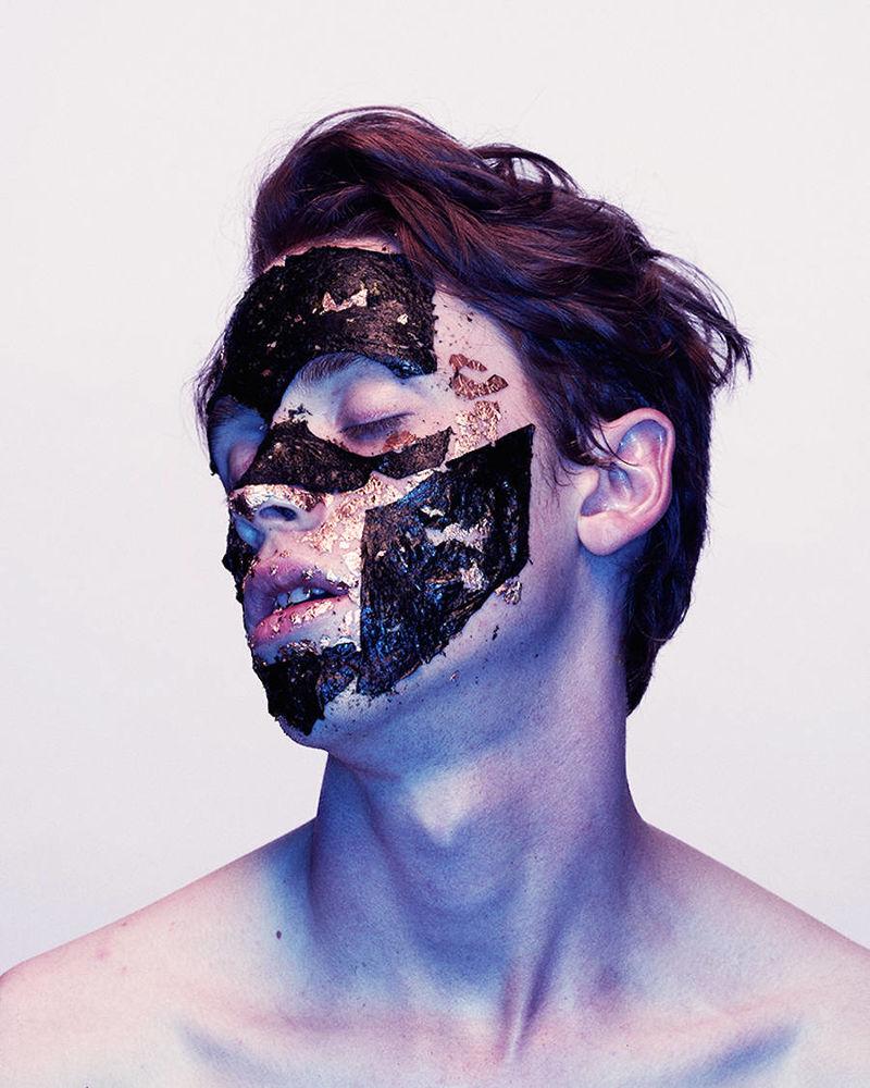 Experimental Face Paint Portraits