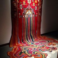 Melting Rug Sculptures : Faig Ahmed