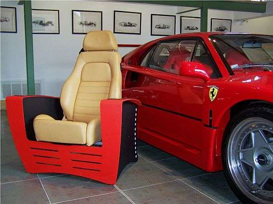 best way to place living room furniture bobs sets skyline supercar seating : ferrari gtb chair