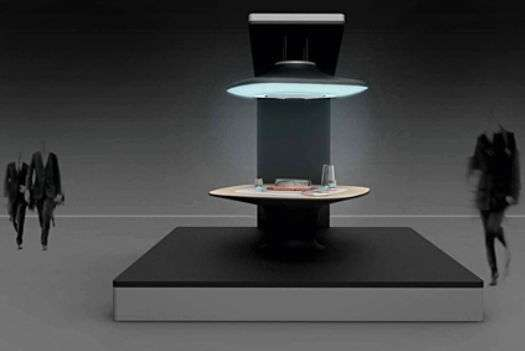 Futuristic Dining Tables  Fireplace by Marti Guixe