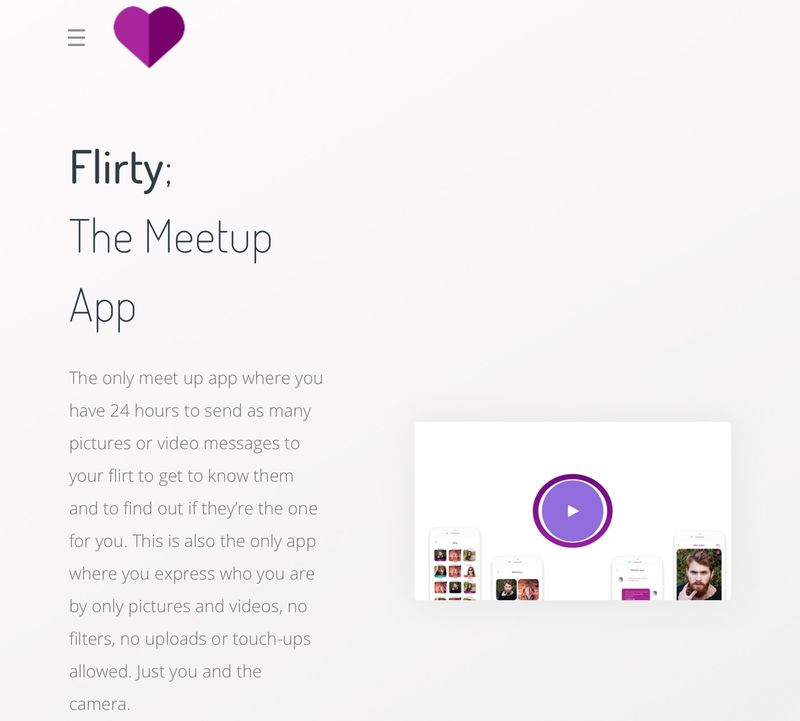 Time-Restricting Dating Apps : Flirty app