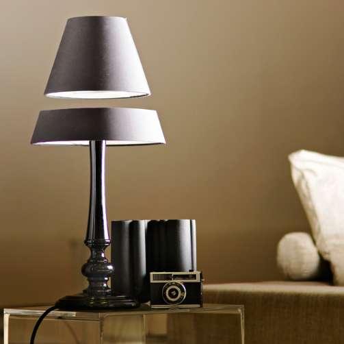 Levitating Lamp Shades  Floating Light
