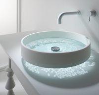 Reflective Bathroom Sinks : floating sink