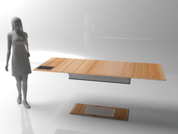 Legless Levitating Tables  Flyux Table