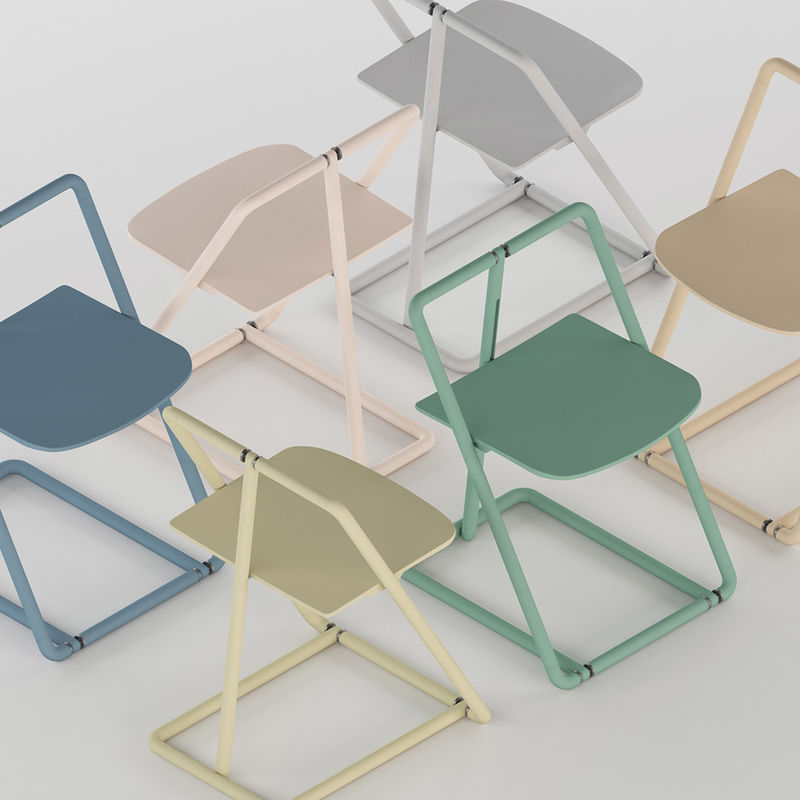 Modern Skeletal Folding Chairs  folding chair design