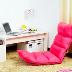 Foldable Cushion Chair Wood Long Design Legless Body Chairs Folding Floor