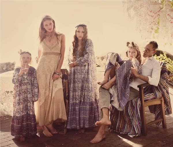 Boho Family Fashion Catalogs  Free People April 2013