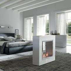 Small Living Room With Fireplace Furniture Placement Storage Modern Versatile Fireplaces : Free Standing