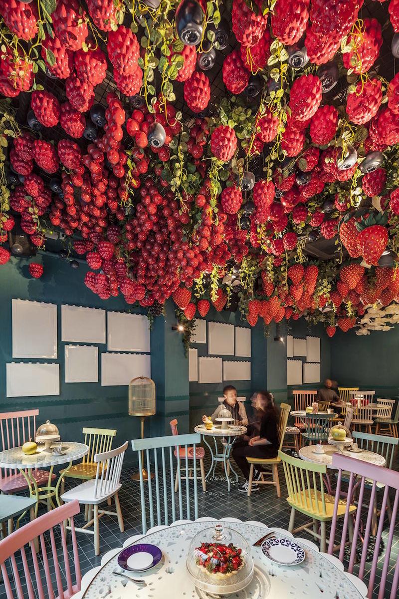 Fruit Themed Dessert Restaurants Fruit Themed