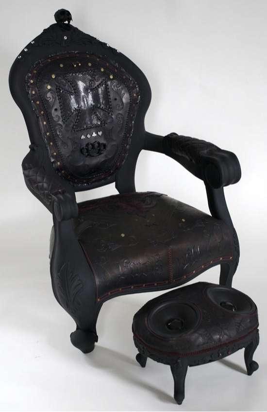skull chair wedding covers bulk buy badass furniture: the outlaw
