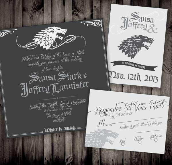 Fantasy Wedding Invitations
