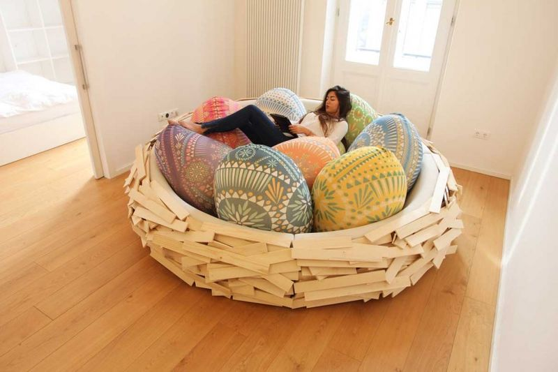 anime bean bag chair unique chairs uk oversized furniture lounger abstract avian loungers