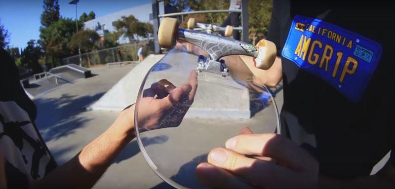 bulletproof glass skateboards glass