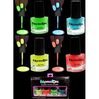 Illuminating Blacklight Manicures  Glow In The Dark Nail