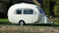 Egg-Shaped Caravans : Go Barefoot