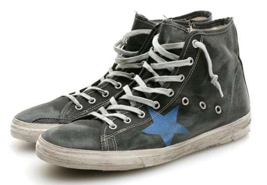 525 Distressed Shoes Golden Goose Francy Sneaker