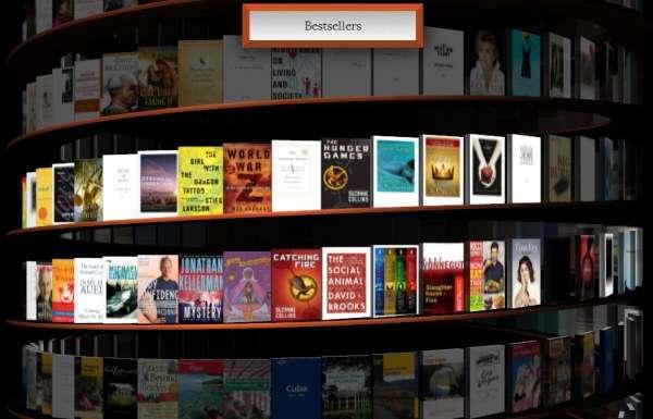 Infinite Virtual 3D Libraries  google webgl bookcase