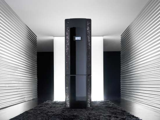 Bedazzled Freezers  gorenje eyecatcher refrigerator
