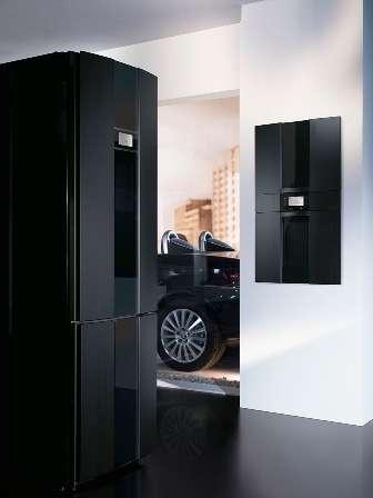 CoBranded Kitchens Gorenje Pininafarina Black Collection