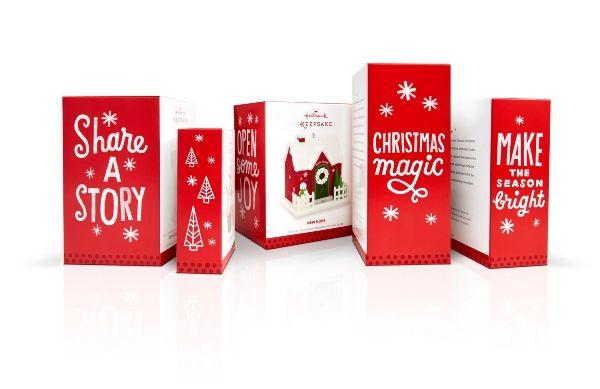 """Hand Drawn Christmas Branding """"hallmark Christmas"""""""