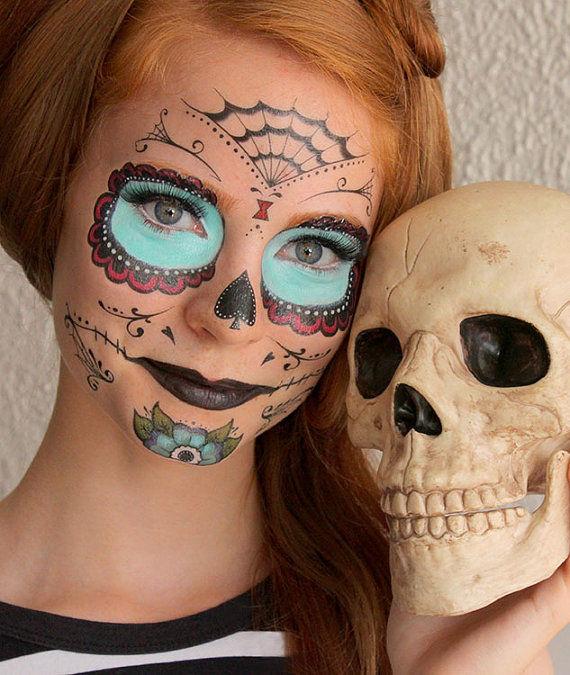temporary face makeup tattoos