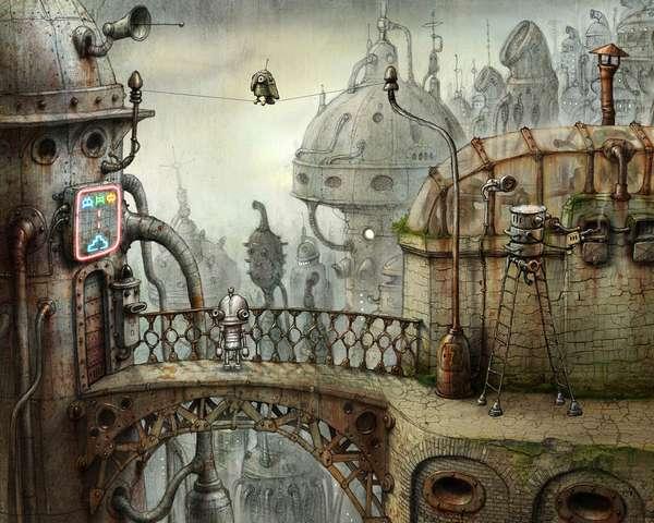 Quotes Gate Wallpaper Hand Drawn Adventure Games Machinarium Is No Hyper